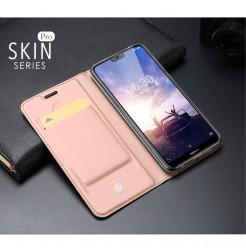 14477 - Dux Ducis Skin кожен калъф за Nokia 6.1 Plus / X6