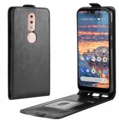 14727 - MadPhone Flip кожен калъф за Nokia 4.2