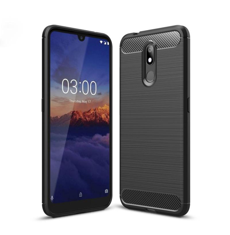 14758 - MadPhone Carbon силиконов кейс за Nokia 3.2