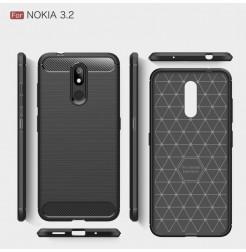 14763 - MadPhone Carbon силиконов кейс за Nokia 3.2