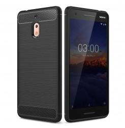 14914 - MadPhone Carbon силиконов кейс за Nokia 2.1