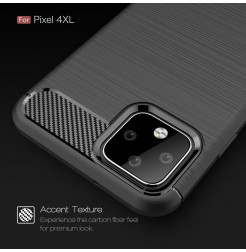 14984 - MadPhone Carbon силиконов кейс за Google Pixel 4 XL