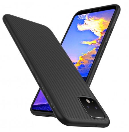 15023 - MadPhone релефен TPU калъф за Google Pixel 4