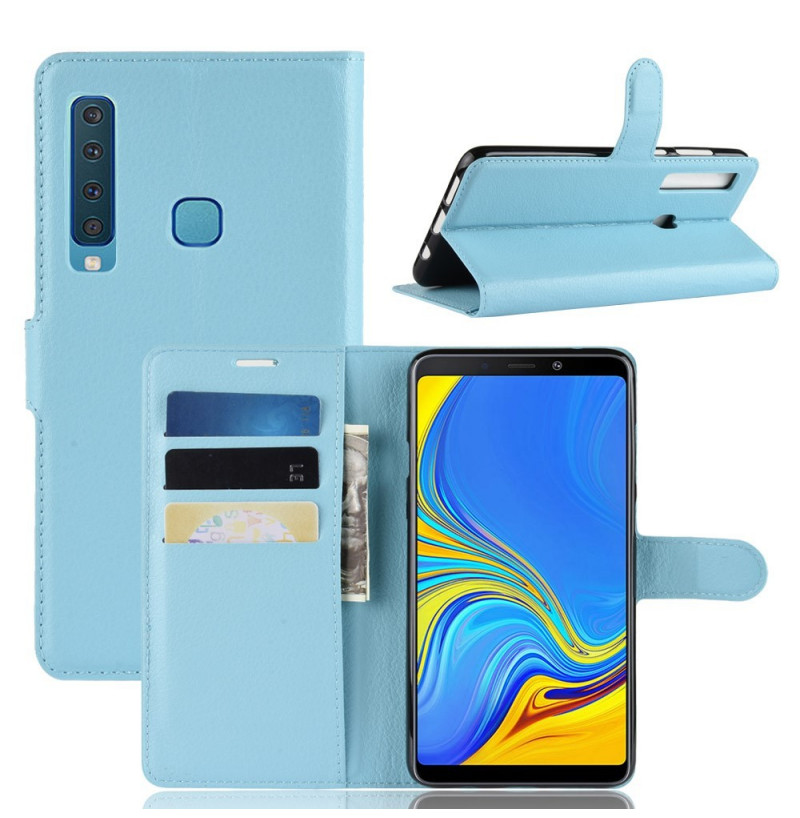 1506 - MadPhone кожен калъф за Samsung Galaxy А9 (2018)