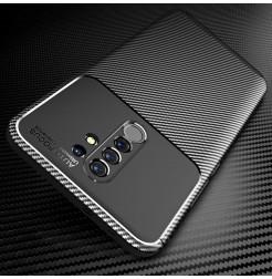 15062 - iPaky Carbon силиконов кейс калъф за Xiaomi Redmi 9