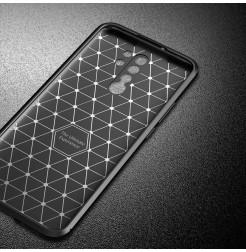 15064 - iPaky Carbon силиконов кейс калъф за Xiaomi Redmi 9