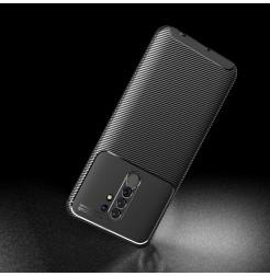 15065 - iPaky Carbon силиконов кейс калъф за Xiaomi Redmi 9