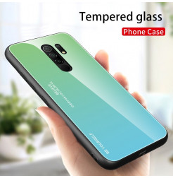 15084 - NXE Sky Glass стъклен калъф за Xiaomi Redmi 9