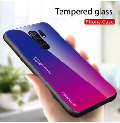 15090 - NXE Sky Glass стъклен калъф за Xiaomi Redmi 9