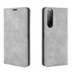 15132 - MadPhone Classic кожен калъф за Sony Xperia 10 II