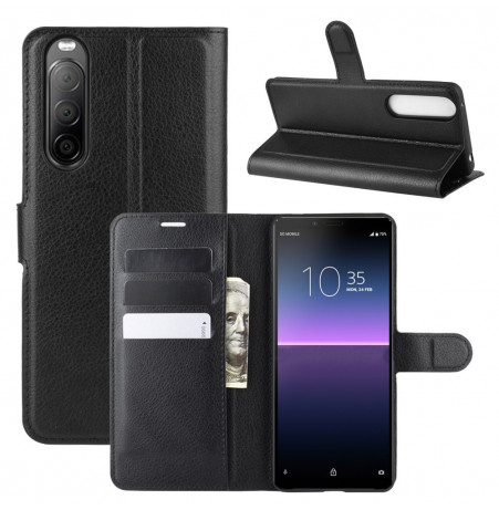 15183 - MadPhone кожен калъф за Sony Xperia 10 II