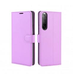 15192 - MadPhone кожен калъф за Sony Xperia 10 II