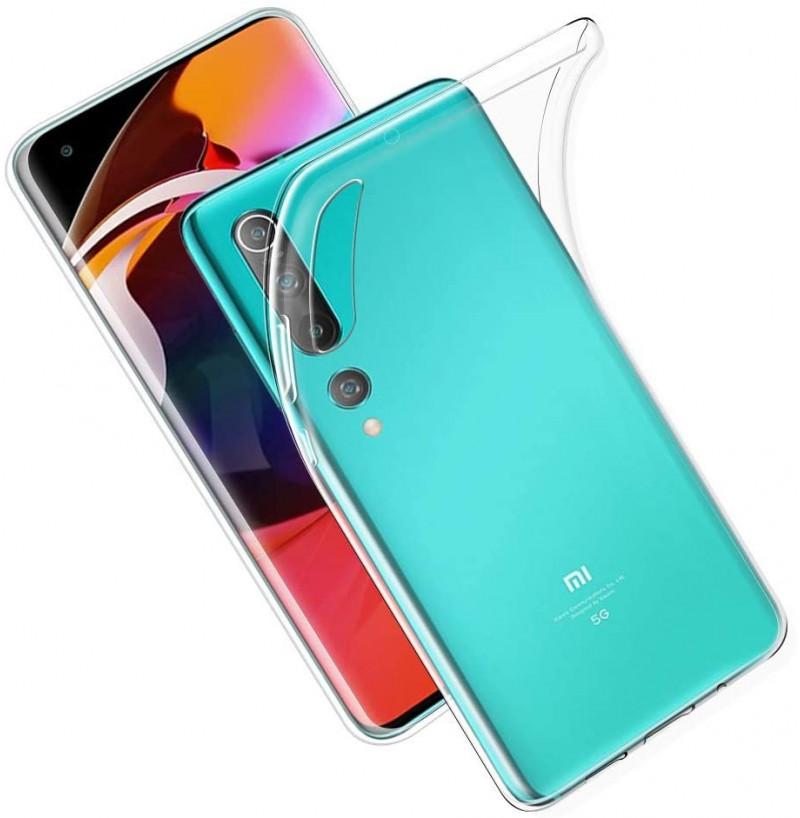 15278 - MadPhone супер слим силиконов гръб за Xiaomi Mi 10 / 10 Pro