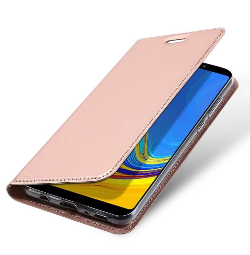 1543 - Dux Ducis Skin кожен калъф за Samsung Galaxy A9 (2018)