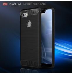 15568 - MadPhone Carbon силиконов кейс за Google Pixel 3 XL