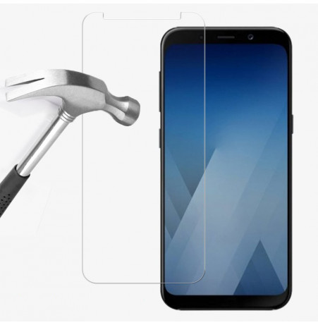 1562 - MadPhone стъклен протектор 9H за Samsung Galaxy A8 (2018)