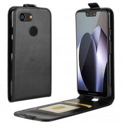 15622 - MadPhone Flip кожен калъф за Google Pixel 3 XL