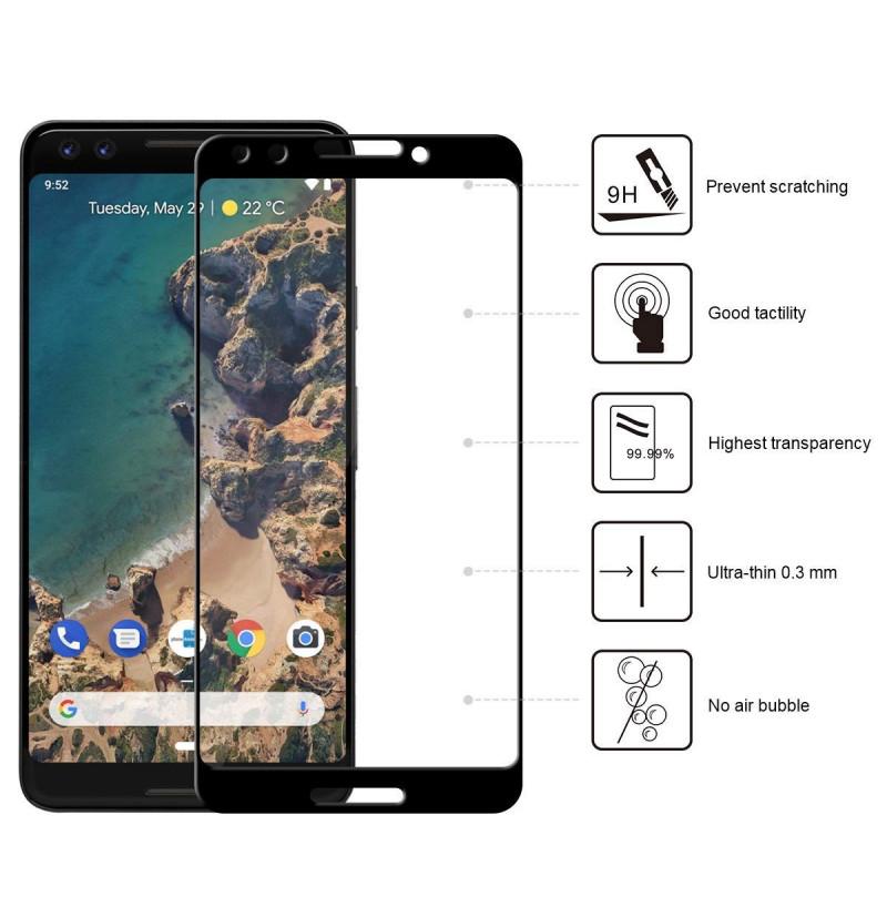 15639 - 3D стъклен протектор за целия дисплей Google Pixel 3