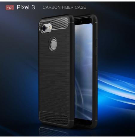 15670 - MadPhone Carbon силиконов кейс за Google Pixel 3