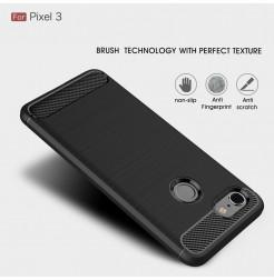 15671 - MadPhone Carbon силиконов кейс за Google Pixel 3