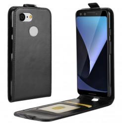 15689 - MadPhone Flip кожен калъф за Google Pixel 3