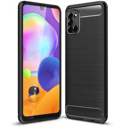 15705 - MadPhone Carbon силиконов кейс за Samsung Galaxy A31