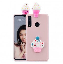 16133 - MadPhone 3D Animal силиконов кейс за Huawei P30 Lite