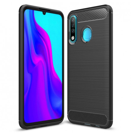 16143 - MadPhone Carbon силиконов кейс за Huawei P30 Lite