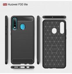 16144 - MadPhone Carbon силиконов кейс за Huawei P30 Lite