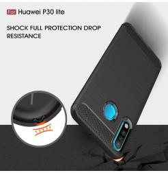 16147 - MadPhone Carbon силиконов кейс за Huawei P30 Lite