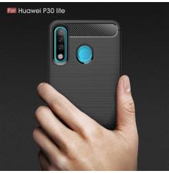 16148 - MadPhone Carbon силиконов кейс за Huawei P30 Lite