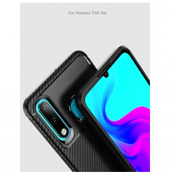 16157 - iPaky Carbon силиконов кейс калъф за Huawei P30 Lite
