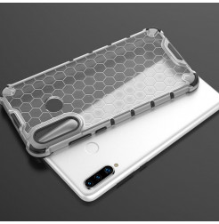 16180 - MadPhone HoneyComb хибриден калъф за Huawei P30 Lite