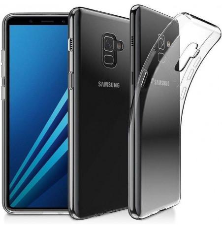 1622 - MadPhone супер слим силиконов гръб за Samsung Galaxy A8 (2018)