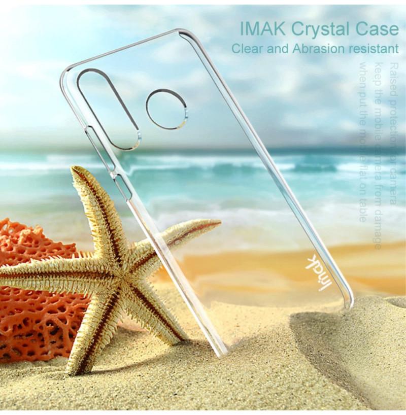 16230 - IMAK Crystal Case тънък твърд гръб за Huawei P30 Lite