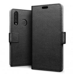 16328 - MadPhone кожен калъф за Huawei P30 Lite