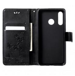 16355 - MadPhone кожен калъф с картинки за Huawei P30 Lite