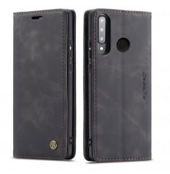 16381 - CaseMe премиум кожен калъф за Huawei P30 Lite