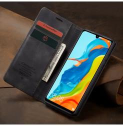 16382 - CaseMe премиум кожен калъф за Huawei P30 Lite