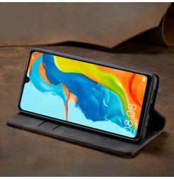 16383 - CaseMe премиум кожен калъф за Huawei P30 Lite