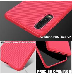 16484 - MadPhone релефен TPU калъф за Huawei P30