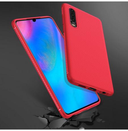 16486 - MadPhone релефен TPU калъф за Huawei P30