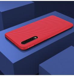 16487 - MadPhone релефен TPU калъф за Huawei P30