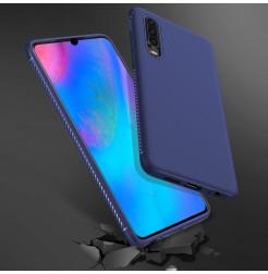 16496 - MadPhone релефен TPU калъф за Huawei P30