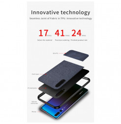 16537 - MadPhone Split кейс от плат и кожа за Huawei P30