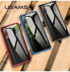 16547 - USAMS Plated силиконов кейс калъф за Huawei P30