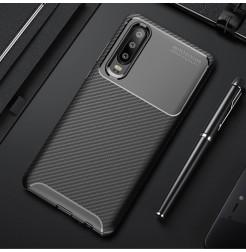 16604 - iPaky Carbon силиконов кейс калъф за Huawei P30