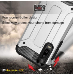 16621 - MadPhone Armor хибриден калъф за Huawei P30