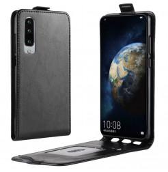 16640 - MadPhone Flip кожен калъф за Huawei P30