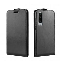 16641 - MadPhone Flip кожен калъф за Huawei P30